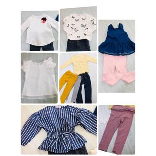 エイチアンドエム(H&M)の女の子⭐︎幼児⭐︎セット売り⭐︎11点⭐︎110(ニット)