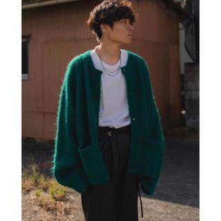 """サンシー(SUNSEA)のstein 20aw KID MOHAIR CARDIGAN """"GREEN""""(カーディガン)"""