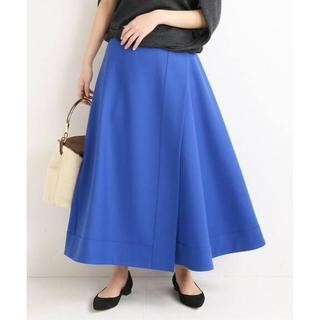 イエナ(IENA)の新品 ヴェルメイユパーイエナ ドライウール二重織りラップスカート36(ロングスカート)