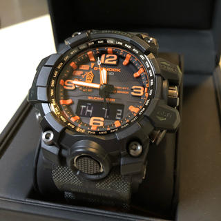 ジーショック(G-SHOCK)のG-SHOCKマッドマスターGWG-1000MH-1AJRマハリシコラボ(腕時計(アナログ))