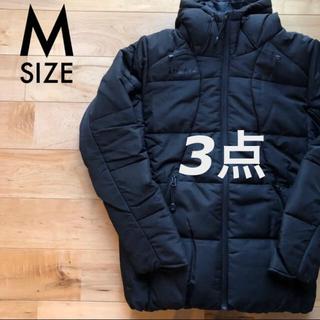 アスレタ(ATHLETA)のATHLETA アスレタ オールブラック中綿ジャケット Mサイズ新品コート(ウェア)
