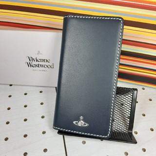 ヴィヴィアンウエストウッド(Vivienne Westwood)の新品箱付ヴィヴィアンウエストウッドスマホケースiPhone7.8.SE対応紺色(iPhoneケース)