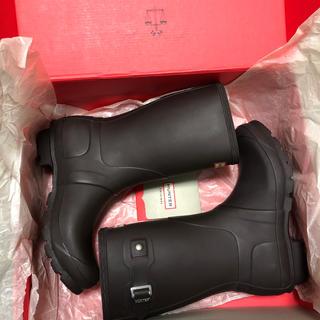 ハンター(HUNTER)のHunter ハンター レインブーツ UK6  ダークブラウン(レインブーツ/長靴)