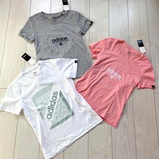 adidas - 新品 adidas ウィメンズ 半袖 Tシャツ まとめ売り グレー ピンク 白