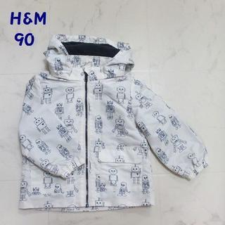 エイチアンドエム(H&M)のH&M / エイチアンドエム フード付ジャンパー 90(ジャケット/上着)