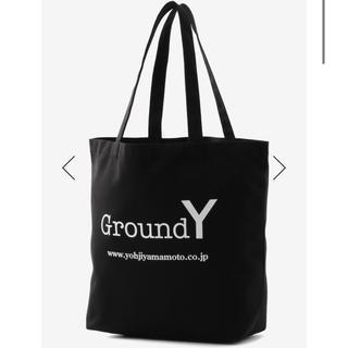 ヨウジヤマモト(Yohji Yamamoto)のGround Y  Cotton Canvas Logo Tote Bag  (トートバッグ)