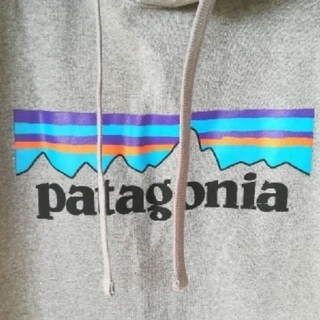 パタゴニア(patagonia)のタグ付き〘新品〙Patagonia パタゴニア パーカー グレー/S(パーカー)