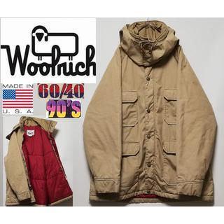 WOOLRICH - 333 90年代 WOOLRICH 6040クロス 中綿 USA