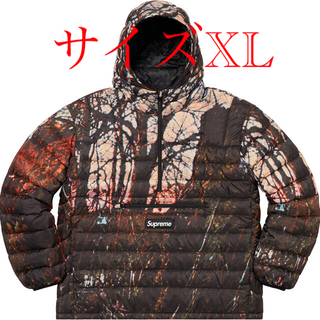 シュプリーム(Supreme)のsupreme Micro Down Hooded Pullover XL (ダウンジャケット)