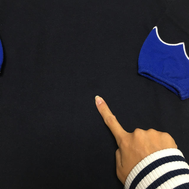 Design Tshirts Store graniph(グラニフ)のgraniph 白鳥 青ネイビー 親子おそろい 110.F キッズ/ベビー/マタニティのキッズ服女の子用(90cm~)(ワンピース)の商品写真