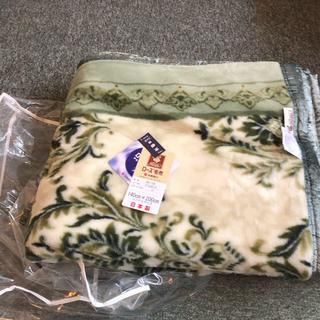 西川 - 京都西川 ローズ毛布 未使用品