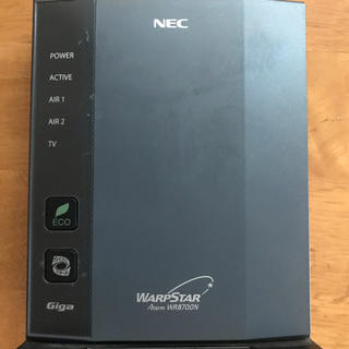 エヌイーシー(NEC)のNEC WR8700N ルーター(その他)