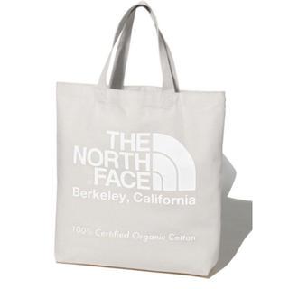 THE NORTH FACE - 20年モデル 新品 未使用 ノースフェイス オーガニックコットン トート  白