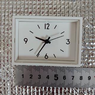 MUJI (無印良品) - 無印良品 駅の時計 ミニ