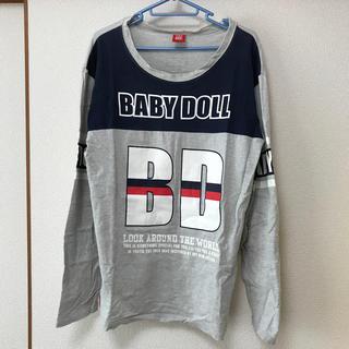 ベビードール(BABYDOLL)の【古着】baby doll  メンズ長袖Tシャツ(L)(シャツ)