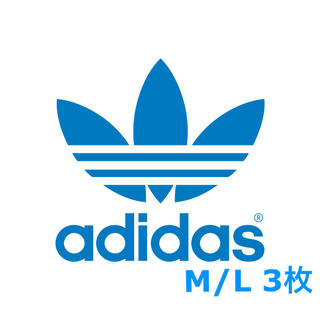 アディダス(adidas)のadidas ファッション用 フェイス カバー ブルー M/L 3枚 1パック (その他)