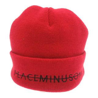 ピースマイナスワン(PEACEMINUSONE)のpeaceminusone  ビーニー(ニット帽/ビーニー)