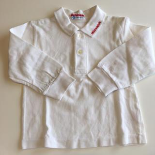 ミキハウス(mikihouse)のミキハウス ポロシャツ 90 難あり(Tシャツ/カットソー)