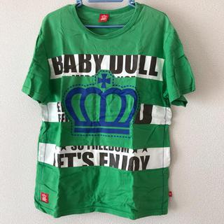 ベビードール(BABYDOLL)の【古着】baby doll  メンズ半袖Tシャツ(M)(Tシャツ/カットソー(半袖/袖なし))