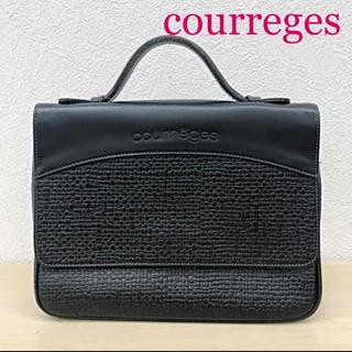 courrèges(クレージュ) サッチェルバッグ フランス製