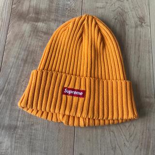 シュプリーム(Supreme)のSupreme ビーニー  オレンジ(ニット帽/ビーニー)