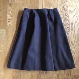 ビームス(BEAMS)のビームス  茶色 Mサイズ シンプルフレアスカート(ひざ丈スカート)