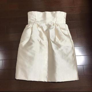 DOLCE&GABBANA - DOLCE&GABBANAハイウエスト艶スカート