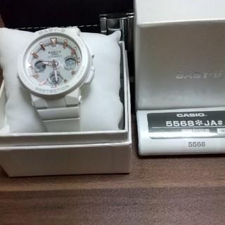 カシオ(CASIO)のbabyGソーラー電波時計(腕時計)
