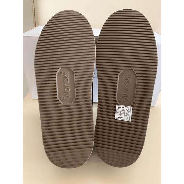 DEUXIEME CLASSE(ドゥーズィエムクラス)の❣️Deuxieme Classe別注 SUICOKEハラコsabots 36  レディースの靴/シューズ(スリッポン/モカシン)の商品写真
