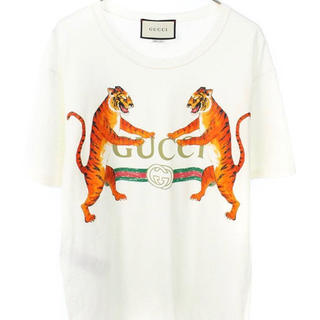 Gucci - GUCCI 虎 × タイガー Tシャツ