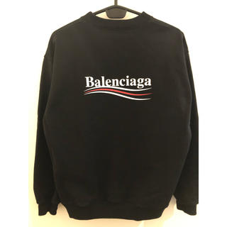 Balenciaga - BALENCIAGA キャンペーンロゴ スウェット サイズL