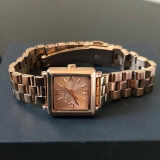マークバイマークジェイコブス(MARC BY MARC JACOBS)のMARC BY MARC JACOBS 腕時計ピンクゴールド 電池交換済(腕時計)