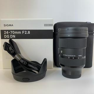 SIGMA - 【おまけ付き】SIGMA 24-70mm F2.8 DG DN Eマウント