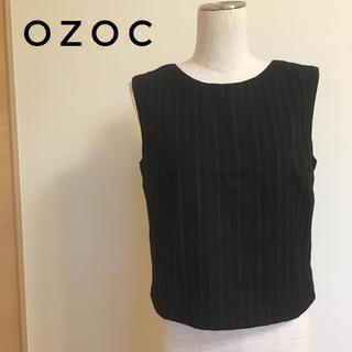 オゾック(OZOC)のOZOC オゾック トップス サイズ38 レディース ベスト ノースリーブ(ベスト/ジレ)