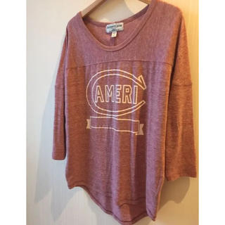 AMERICANA - Americanaアメリカーナ7分袖 カットソー Tシャツ