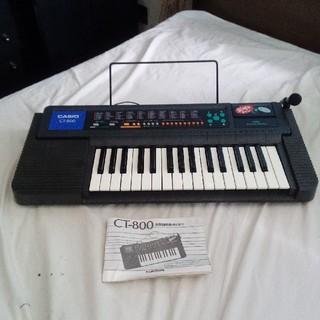 CASIO - CASIO 電子鍵盤楽器 キーボード CT-800