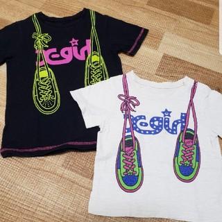 エックスガール(X-girl)のX-girl Tシャツ size90&110(Tシャツ/カットソー)
