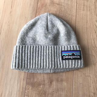 パタゴニア(patagonia)のパタゴニア ニットキャップ グレー (ニット帽/ビーニー)
