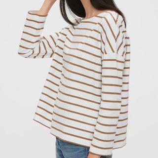 ギャップ(GAP)のGAP ヘビーウェイトTシャツ(Tシャツ(長袖/七分))