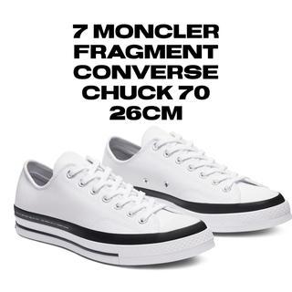フラグメント(FRAGMENT)の7 moncler fragment  converse chuck 70 (スニーカー)