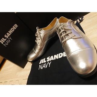 ジルサンダー(Jil Sander)のJIL SANDER NAVY☆ジル・サンダー☆オックスフォードシューズ(ローファー/革靴)