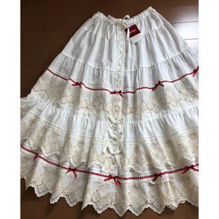 PINK HOUSE - ♡新品タグ付き♡クイーンハートレース スカート(10月末までの出品です)