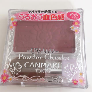 CANMAKE - キャンメイク パウダーチークス PW38