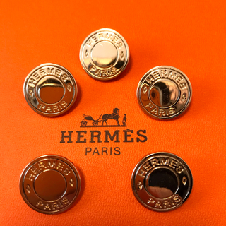 エルメス(Hermes)のエルメス ボタン ゴールド 20ミリ 5個 美品(その他)