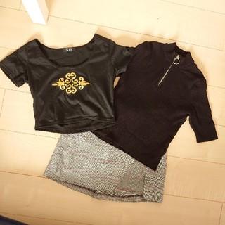 エイチアンドエム(H&M)の韓国系セット(Tシャツ(長袖/七分))