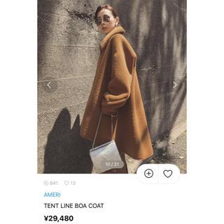 アメリヴィンテージ(Ameri VINTAGE)のameri TENT LINE BOA COAT(ムートンコート)
