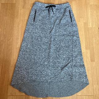 アズールバイマウジー(AZUL by moussy)の裏起毛ロングスカート(ロングスカート)