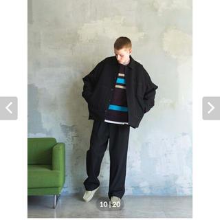 コモリ(COMOLI)のトープ taupe Nidom Color Stitch Work Pants(スラックス)