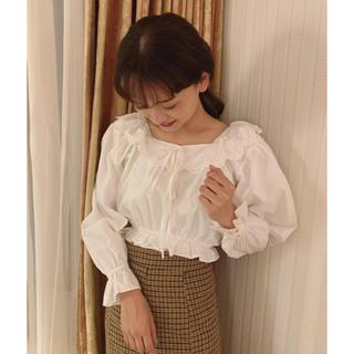 ロキエ(Lochie)のmiro checkskirt(ロングスカート)