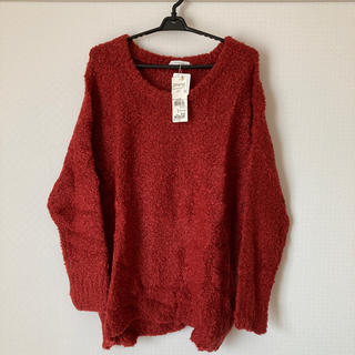 ローリーズファーム(LOWRYS FARM)の【新品・未使用】セーター(ニット/セーター)